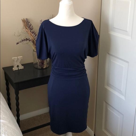 f04573cf92d Ann Taylor Dresses   Skirts - Ann Taylor royal blue jersey knit dress